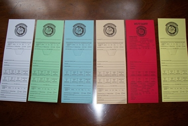 Entry Cards