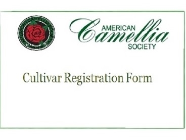 ACS New Cultivar Registration Form