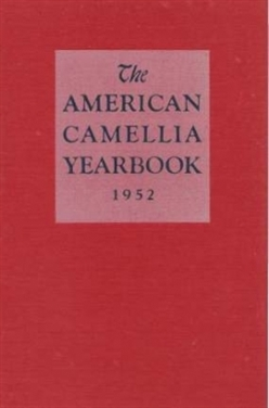 1952 American Camellia Yearbook