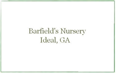 Barfield Nursery