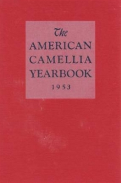 1953 American Camellia Yearbook