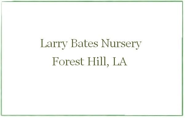Larry Bates Nursery