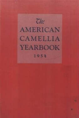 1954 American Camellia Yearbook