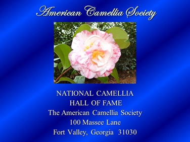 National Camellia Hall of Fame