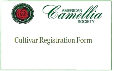Cultivar Registration Form