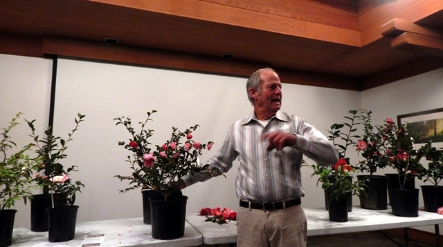 Tom Nuccio speaking to Pacific Camellia Society