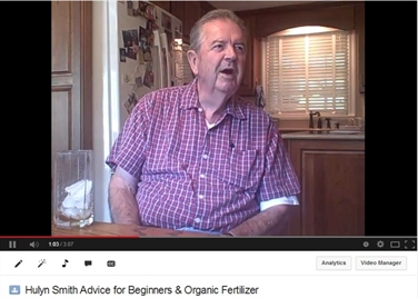 Hulyn Smith - Advice for Beginners & Organic Fertilizer
