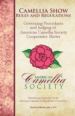 ACS Camellia Judging Rules and Regulations