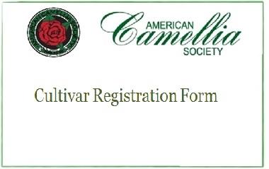 ACS New Cultivar Registration Form