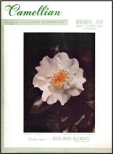 Camellian - Vol. V, No. 4 - November 1954