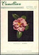 Camellian - Vol. IV, No. 3 - September 1953