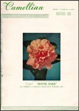 Camellian - Vol. XI, No. 4 - November 1960