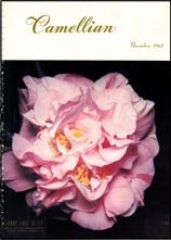 Camellian - Vol. XIII, No. 4 - November 1962