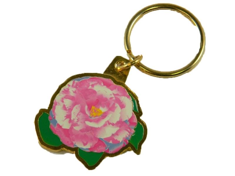 Camellia Keychain
