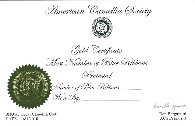 Gold Certificate (Sweepstakes)
