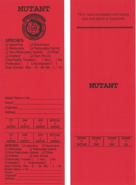 100 Official ACS Red (Sport Entry) Cards