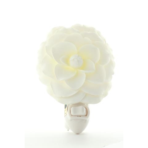 White Camellia Nightlight