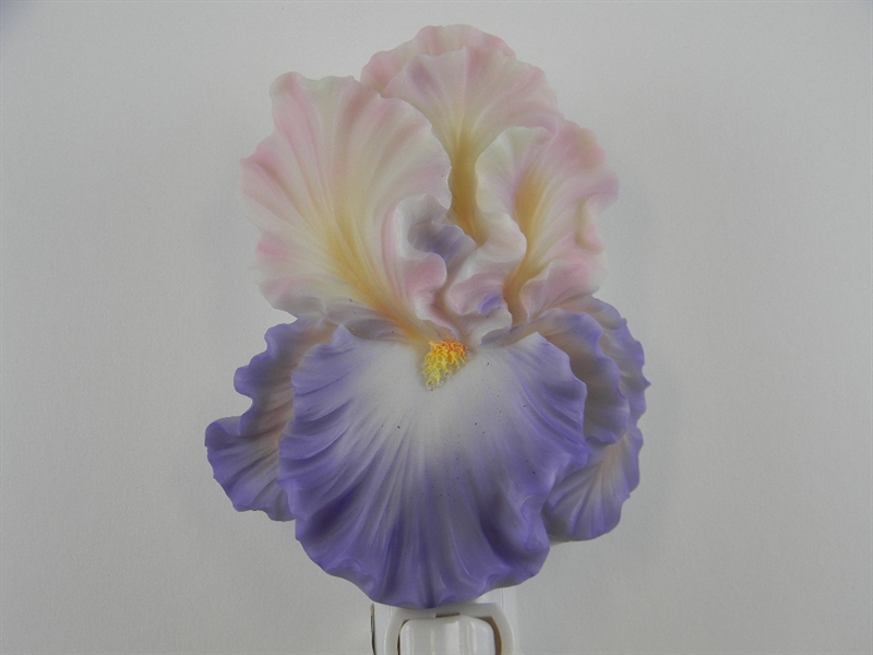 Purple Bearded Iris Nightlight
