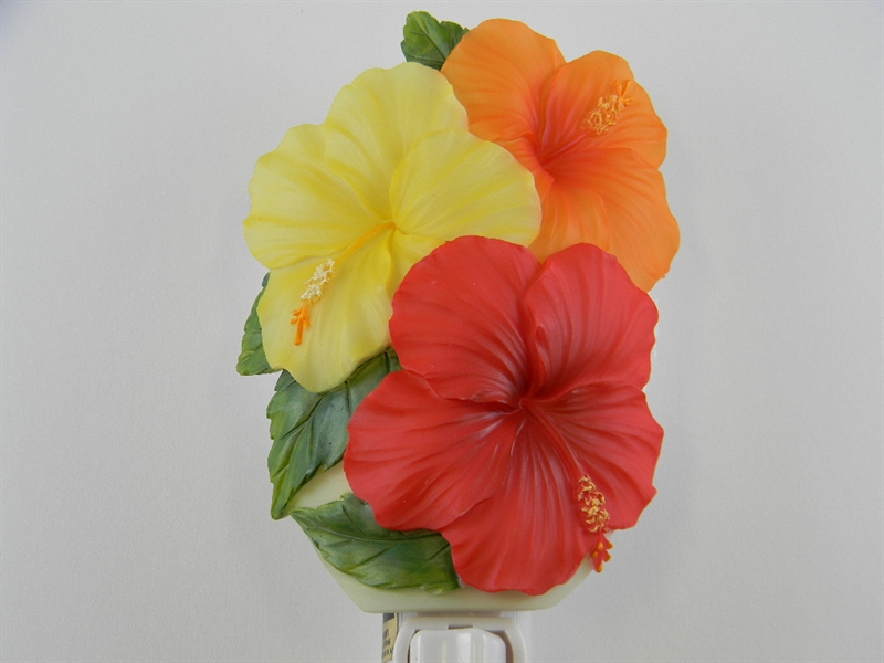 Hibiscus Trio Nightlight
