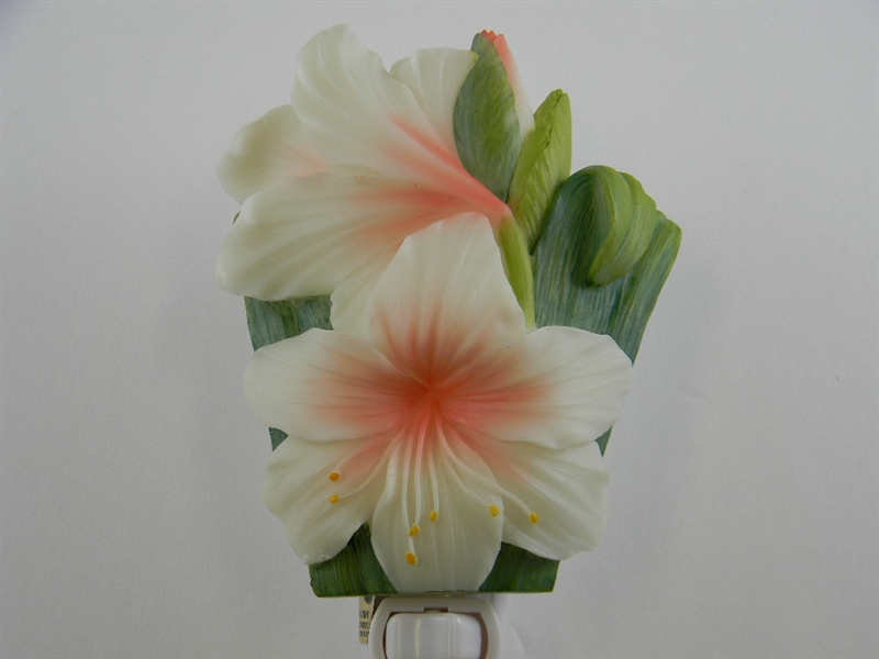 White Day Lily Nightlight