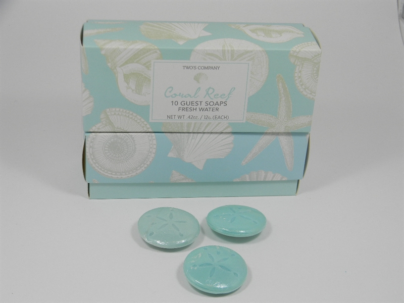 Coral Reef Guest Soap
