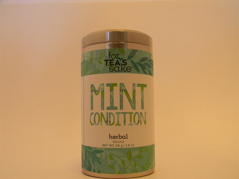 Mint Condition  - Peppermint Herbal Tea, Large Tin