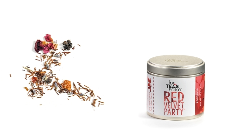 Red Velvet Party Rooibos Tea Blend Small