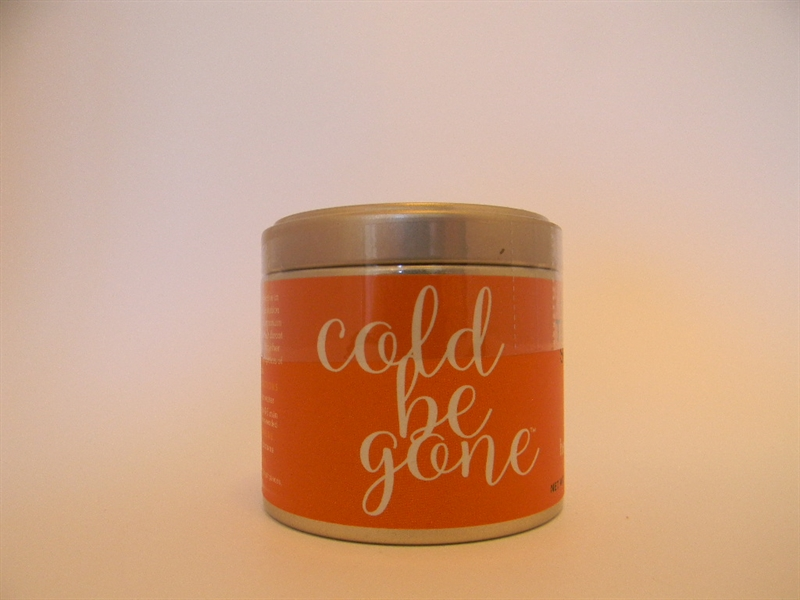 Cold Be Gone Wellness Tea Blend, Small Tin