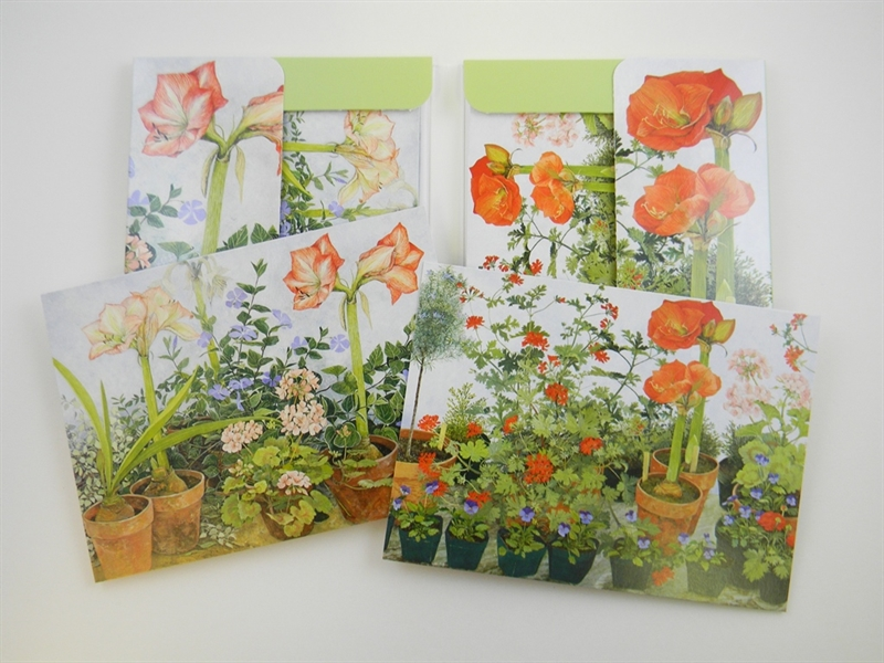 In the Greenhouse Notecards