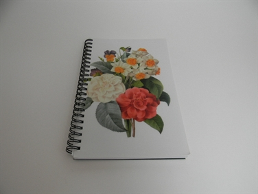Camellia Bouquet Notebook