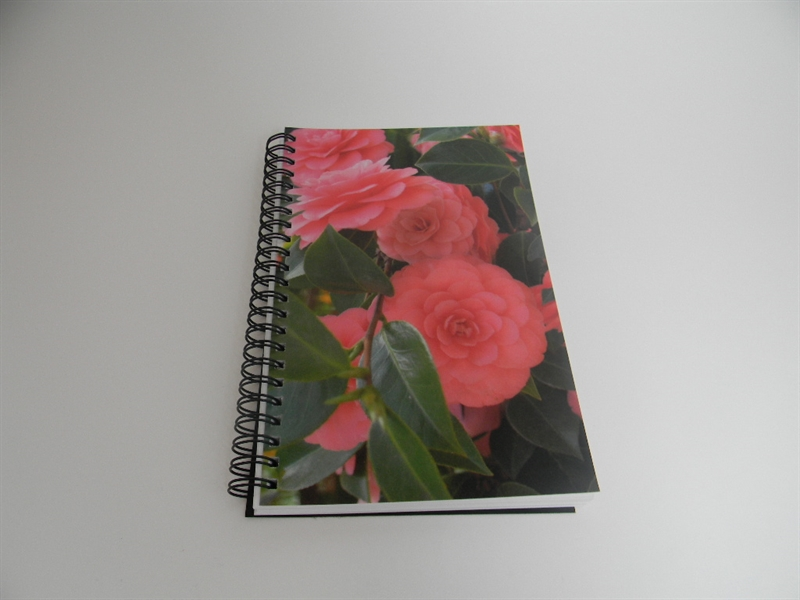 Camellia Close Up Notebook