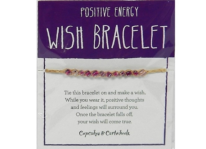 Positive Energy Wish Bracelet