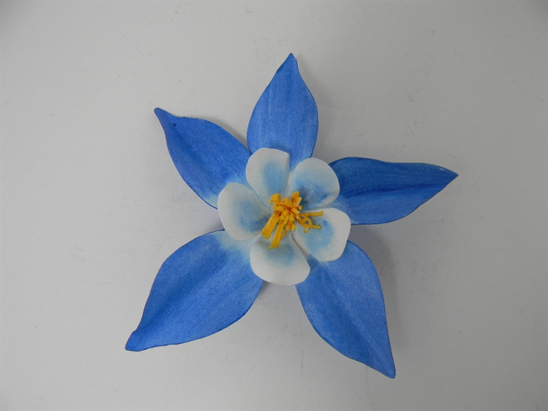 Blue Columbine Pin