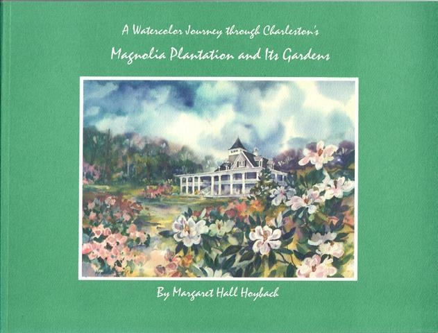 A Watercolor Journey Through Charleston's Magnolia Plantation and Its Gardens