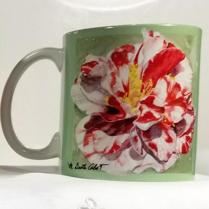 Emmett Pfingstle Camellia Mug