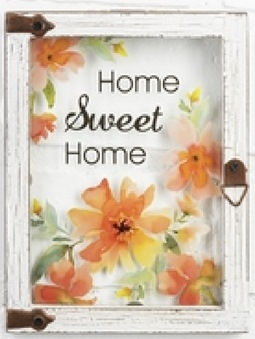 "Wall plaque ""Home Sweet Home"""
