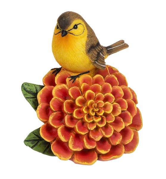 Yellow Hammer on Marigold