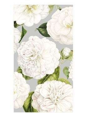 Silver Camellia Guest Towels