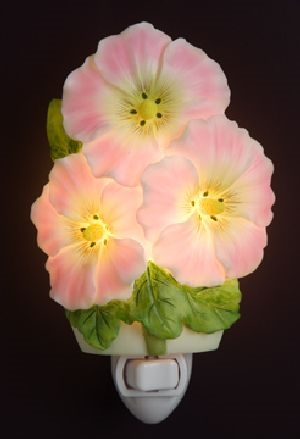 Hollyhocks Nightlight