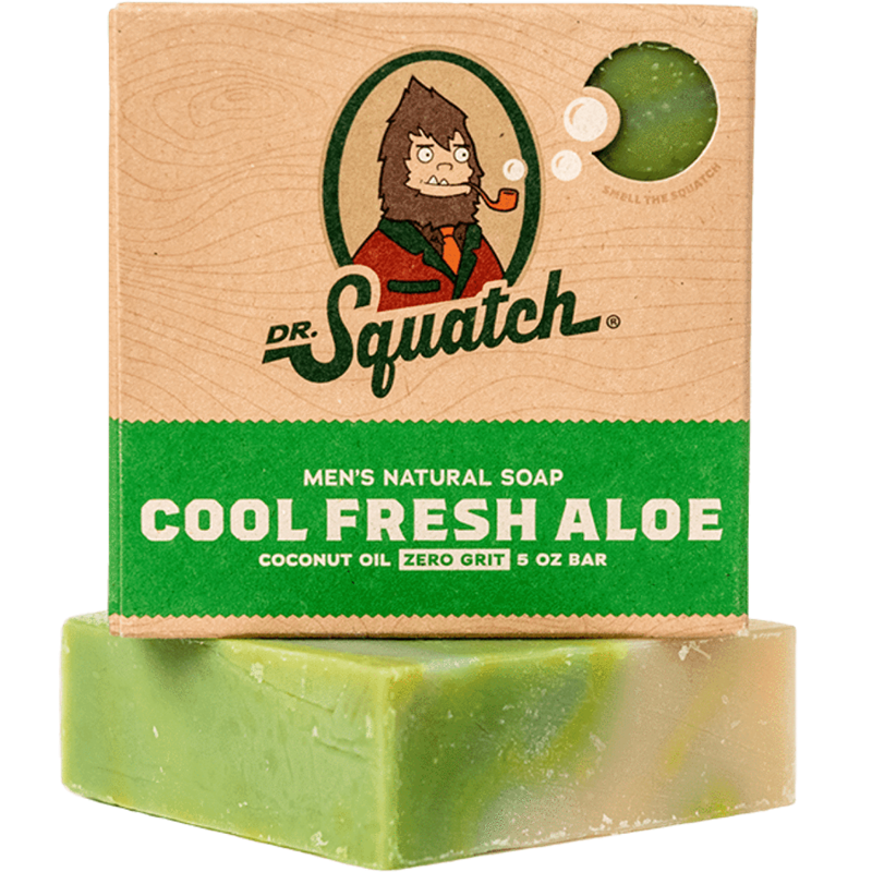 Cool Fresh Aloe Natural Soap