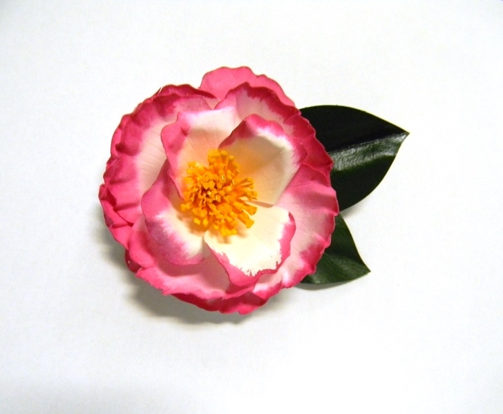 Betty Sheffield Camellia Pin